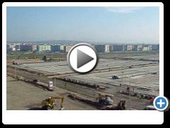Строительство Руставского Авторынка 11 октября 2009 года