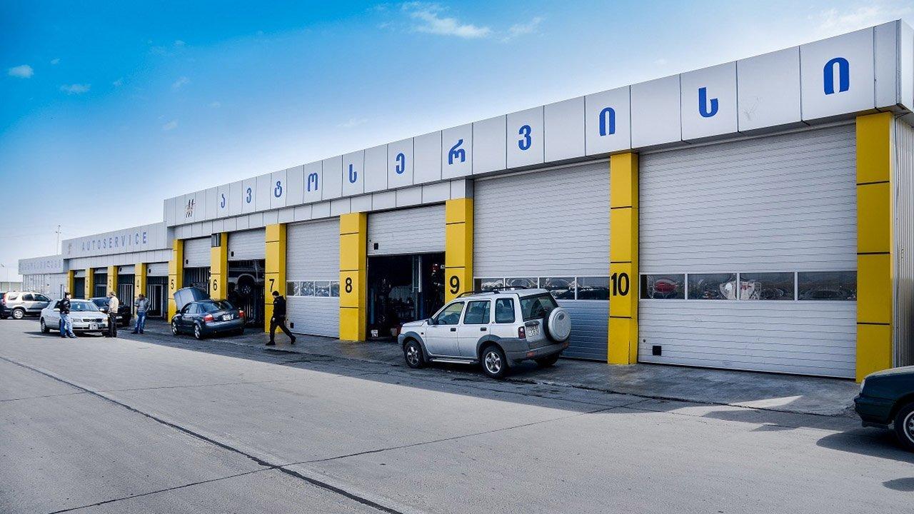 Auto Service Center : Auto service center of rustavi s car market