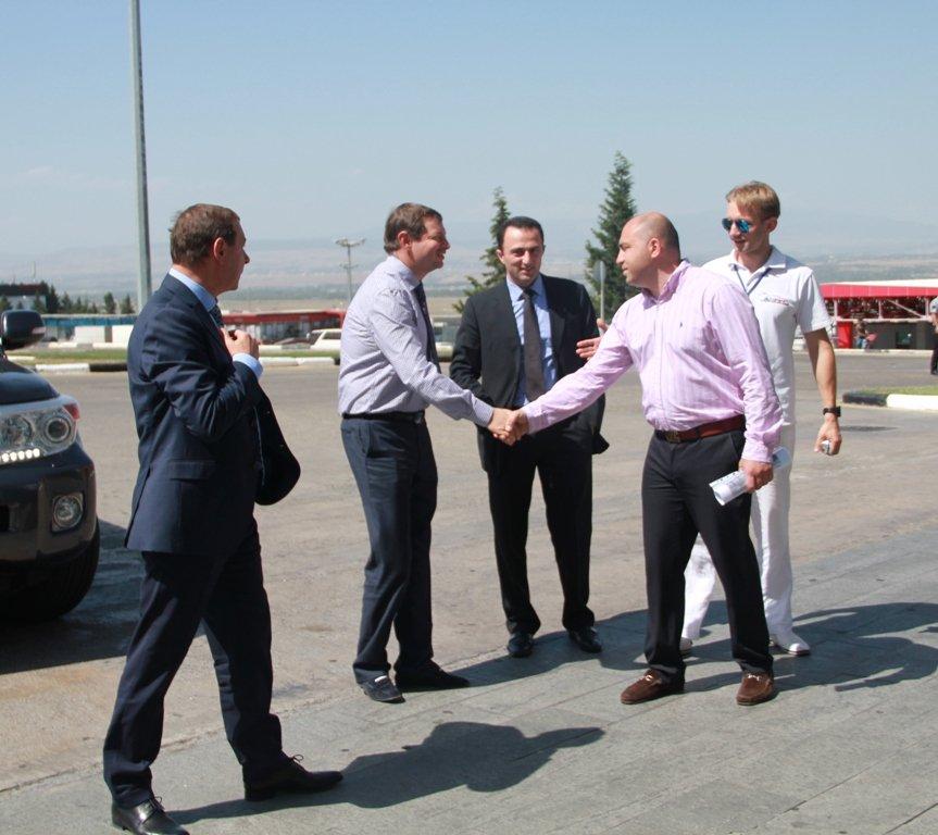 Официальный визит г-на Гороховского О.В