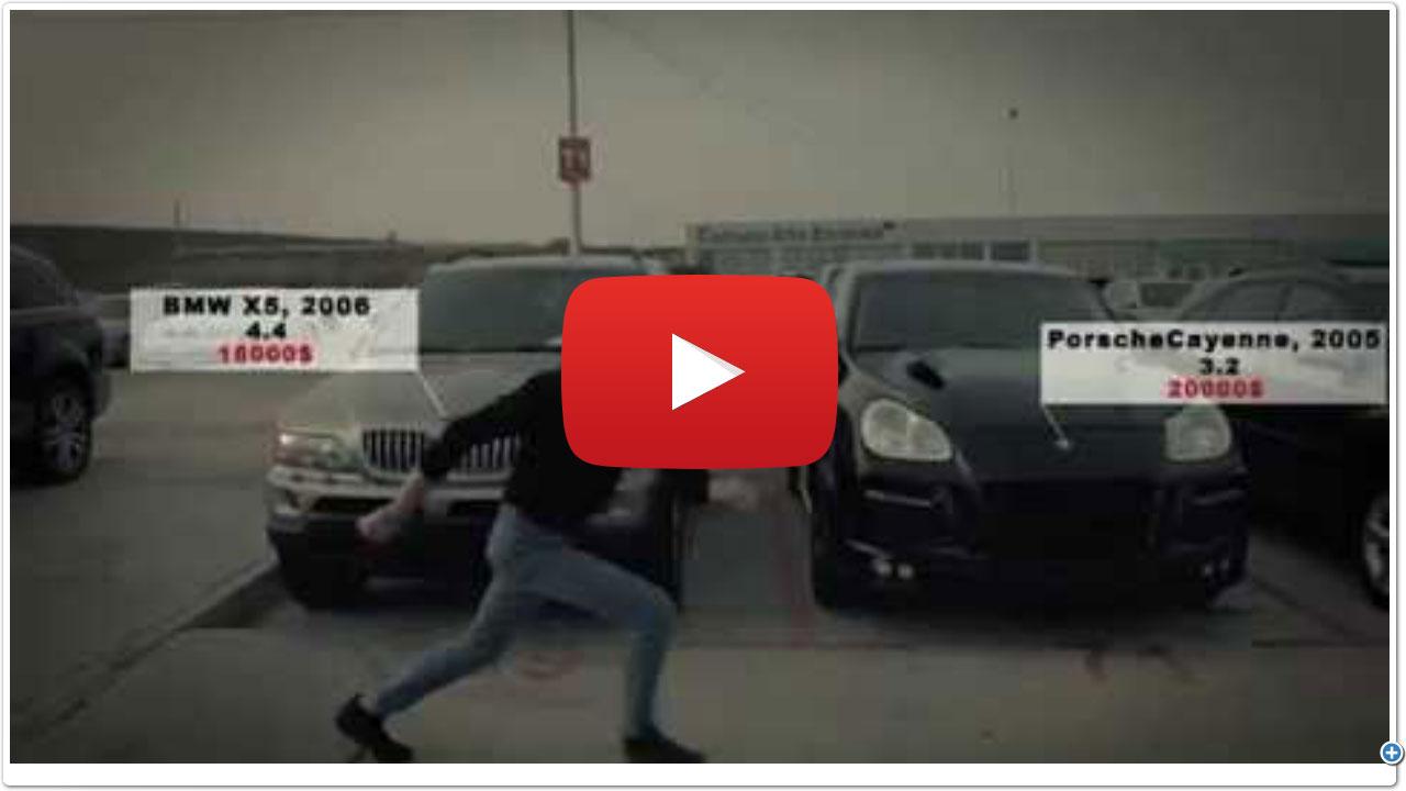 Цены на автомобили на Руставском авторынке не пляшут,      а Гога - да!