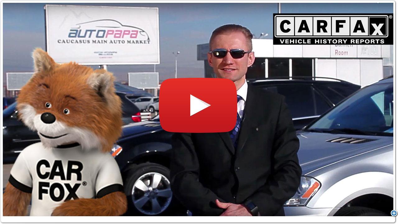 CarFax на веб-сайте autopapa.ge